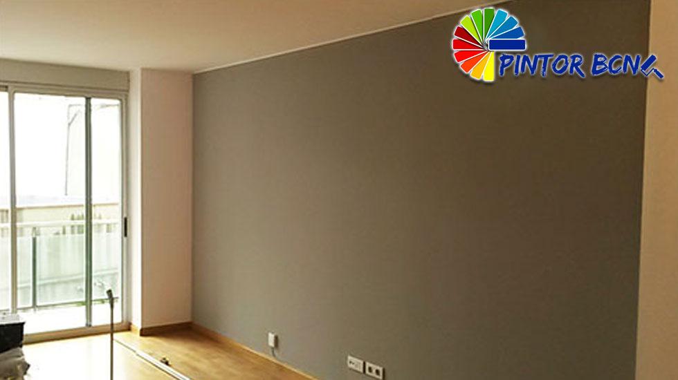Pintar una habitaci n pintor barcelona pintores de - Como pintar un piso pequeno ...