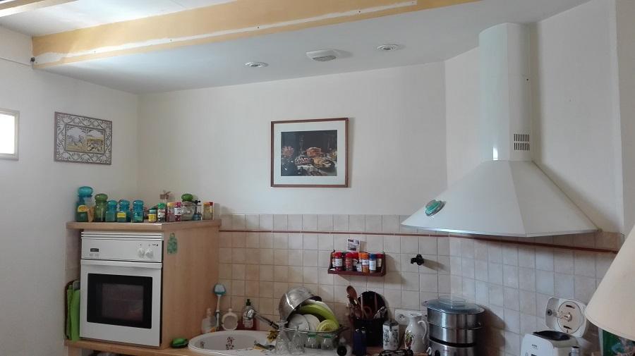 cocina pintada blanco barcelona