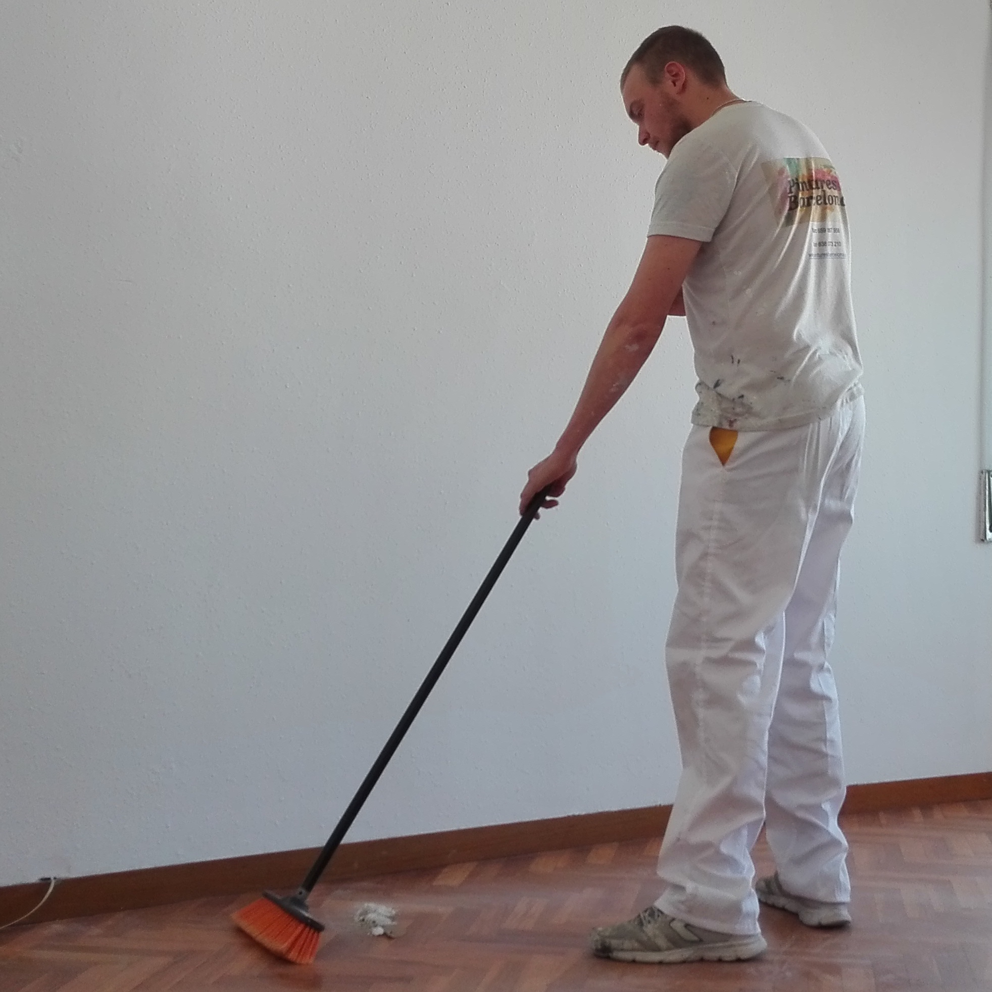Limpiamos después de pintar